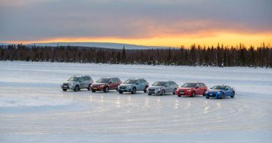 Se Subaru za polárním kruhem (+VIDEO)