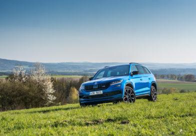 Test Škoda Kodiaq RS 2019: Rychlé SUV (+VIDEO)